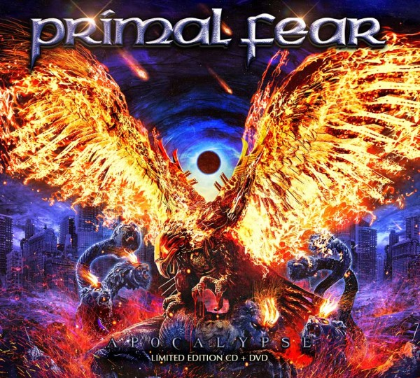 PRIMAL FEAR - Apocalypse - CD+DVD Digipak Deluxe Edition