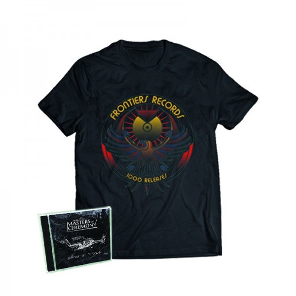 """1000 Releases"" T-Shirt + MASTERS OF CEREMONY - Signs Of Wings CD - Ltd.Bundle T-shirt S-XL"
