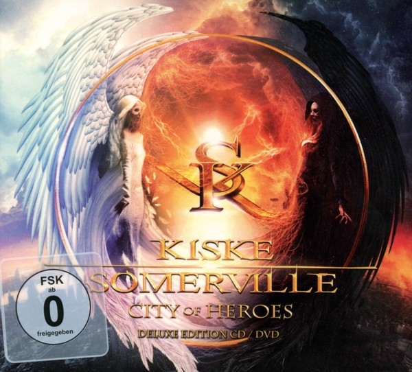 KISKE/SOMERVILLE - City Of Heroes - Ltd.CD+DVD-Digipak