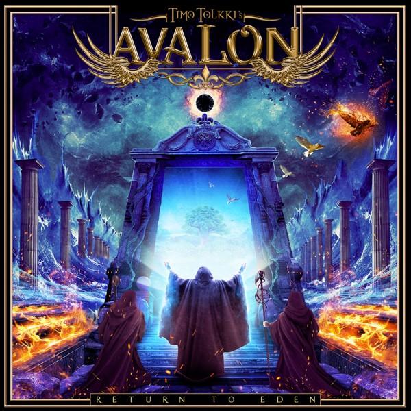 TIMO TOLKKI'S AVALON - Return to Eden - CD Jewelcase