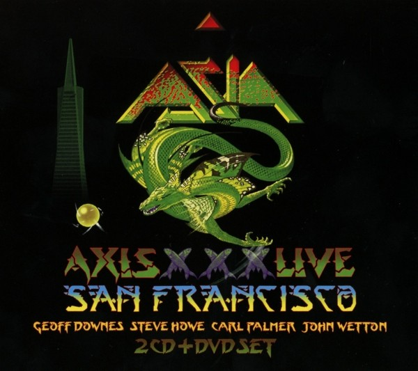 Asia - Axis XXX Live In San Francisco Mmxii (Digipak)