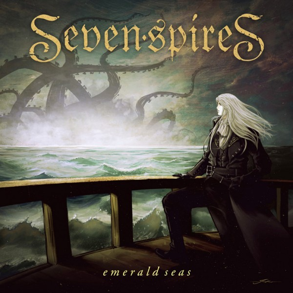 SEVEN SPIRES - Emerald Seas - CD Jewelcase