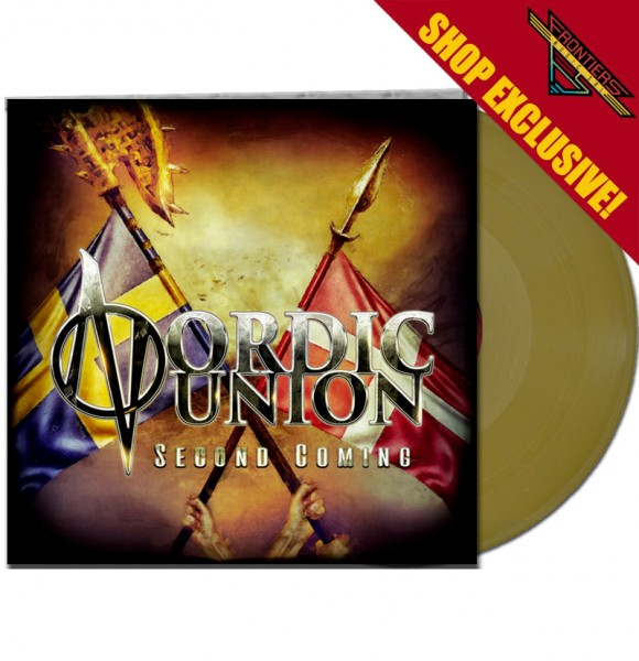 NORDIC UNION - Second Coming - LTD Gatefold GOLD Vinyl, 180 Gram - Shop Exclusive !