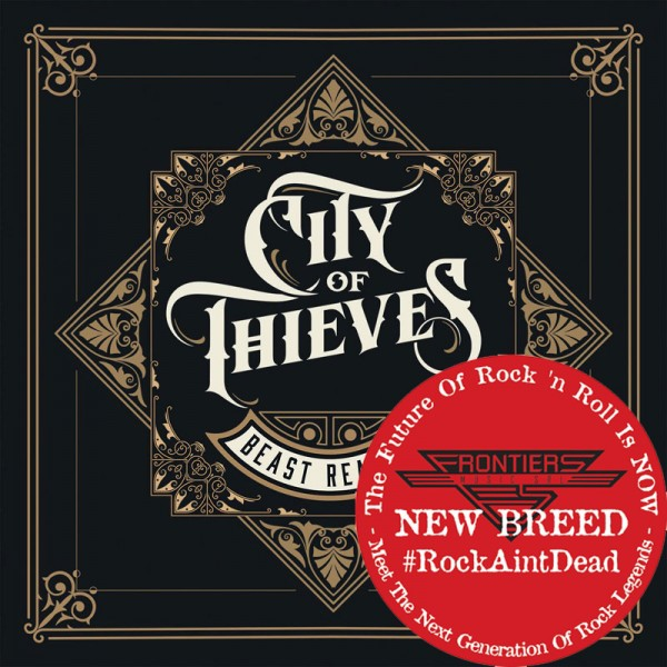 CITY OF THIEVES - Beast Reality - CD Jewelcase *NEW BREED*
