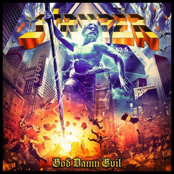 STRYPER - God Damn Evil - CD Jewelcase