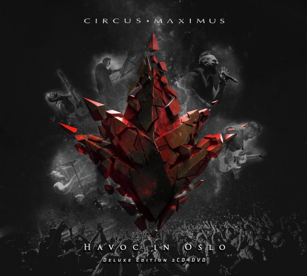 CIRCUS MAXIMUS - Havoc in Oslo - 2CD Digipak/DVD