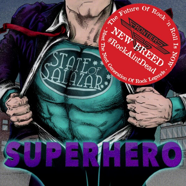 STATE OF SALAZAR - Superhero - CD Jewelcase *NEW BREED*