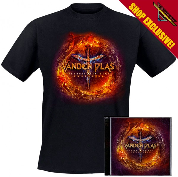 VANDEN PLAS - The Ghost Xperiment: Awakening - Ltd. Bundle: CD + TS-M-XL - Exclusive !