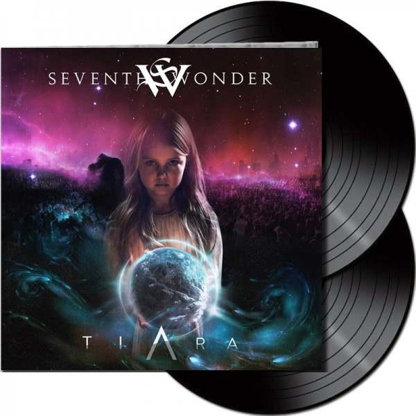 SEVENTH WONDER - Tiara - LTD Gatefold Black 2 Vinyl, 180 Gram