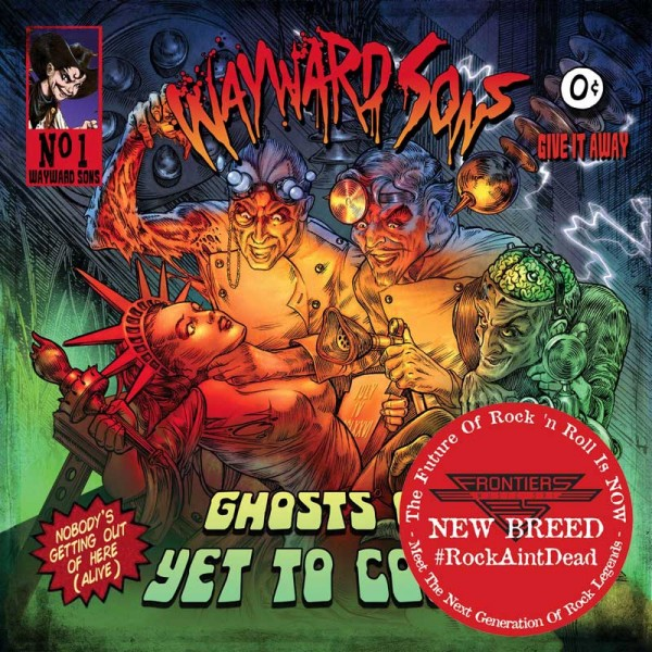 WAYWARD SONS - Ghosts Of Yet To Come - CD Jewelcase