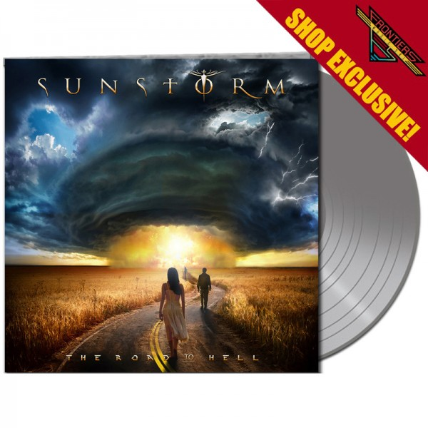 SUNSTORM - The Road To Hell - LTD Gatefold SILVER Vinyl, 180 Gram - SHOP EXCLUSIVE !