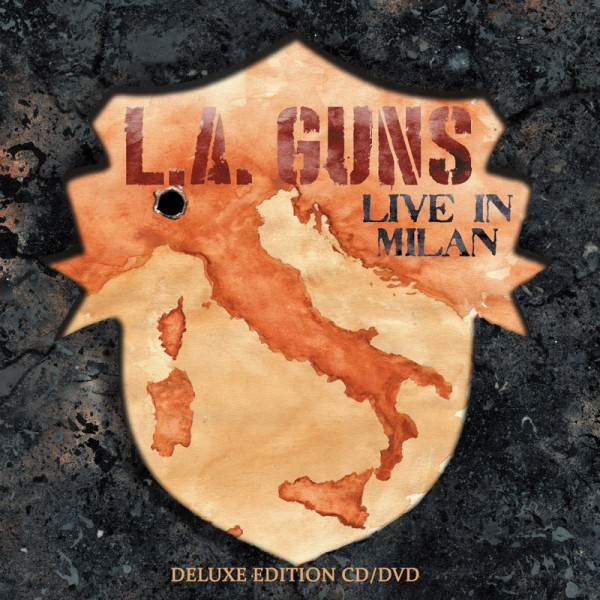 L.A. GUNS - Made In Milan - CD/DVD Deluxe Edition