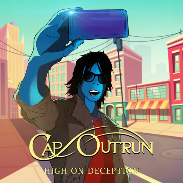 CAP OUTRUN - High On Deception - CD Jewelcase