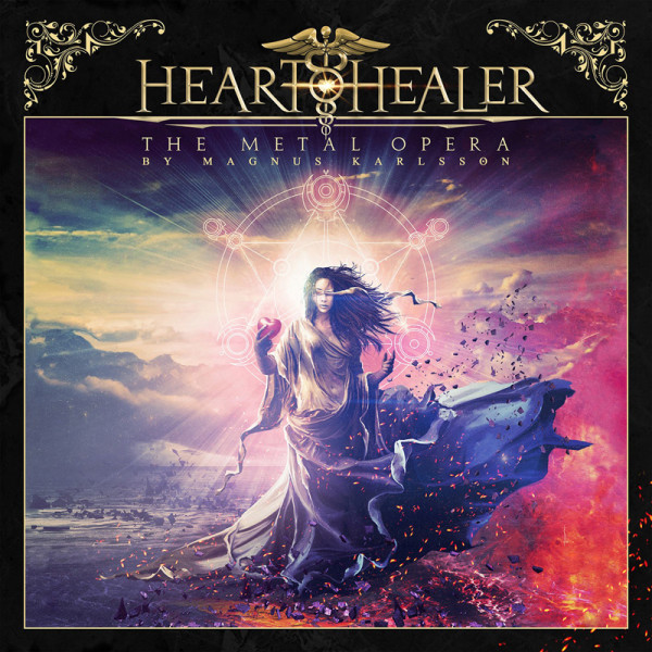 HEART HEALER - The Metal Opera by Magnus Karlsson - CD Jewelcase