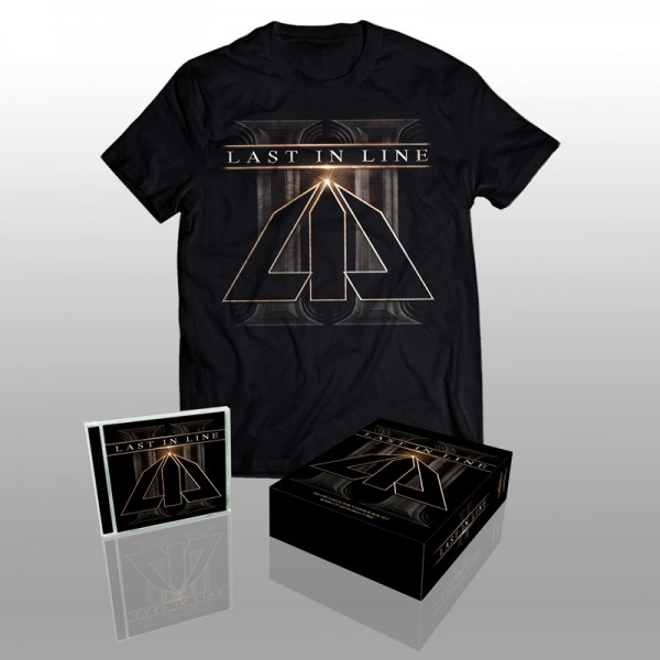LAST IN LINE - II - Ltd.Boxset - CD+T-Shirt (size L)