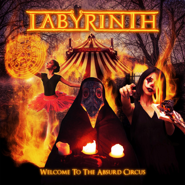 LABYRINTH - Welcome To The Absurd Circus - CD Jewelcase