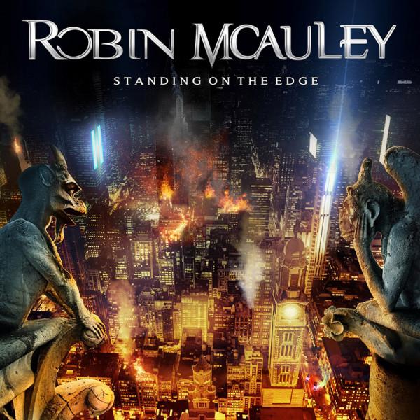 ROBIN MCAULEY - Standing On The Edge - CD Jewelcase