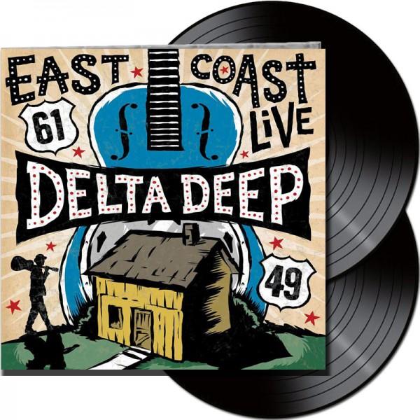DELTA DEEP - East Coast Live - LTD Gatefold Black 2 Vinyl, 180 Gram