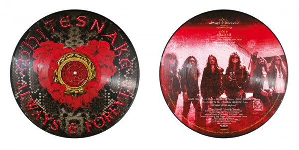 "WHITESNAKE - Always & Forever - Ltd. 12"" Maxi-Single Picture Vinyl"