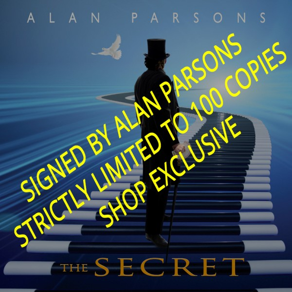ALAN PARSONS - The Secret - Digipak CD+DVD - LTD. SIGNED EDITION - SHOP EXCLUSIVE!