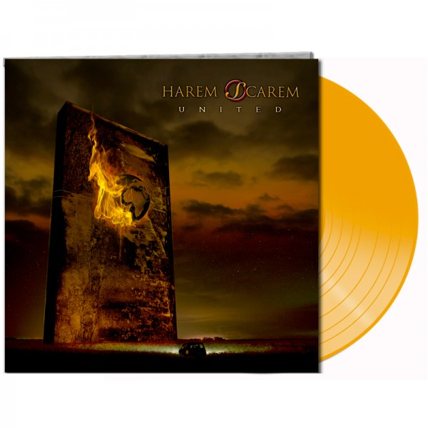 HAREM SCAREM - United - LTD Gatefold ORANGE Vinyl, 180 Gram