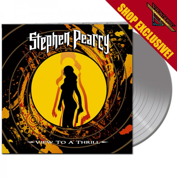 STEPHEN PEARCY - View To A Thrill - LTD Gatefold SILVER Vinyl, 180 Gram - Shop Exclusive !