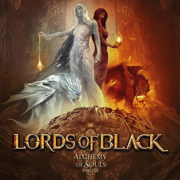 LORDS OF BLACK - Alchemy Of Souls Pt. II - CD Jewelcase