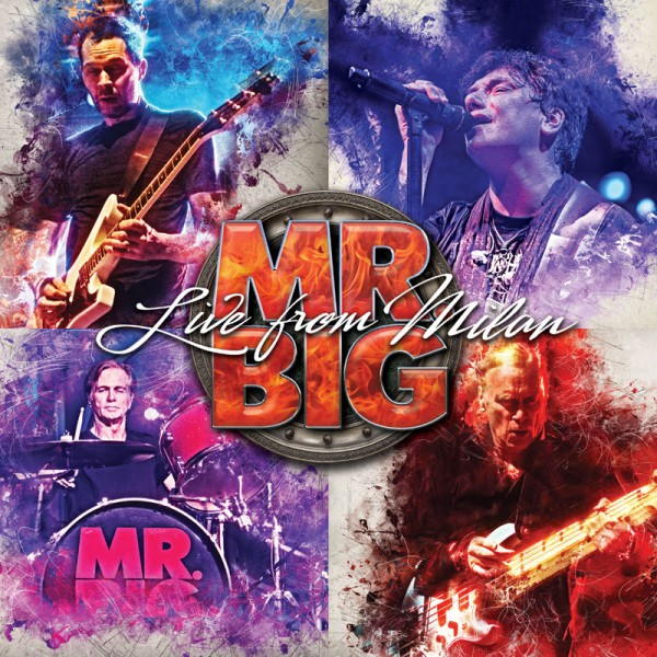 MR. BIG - Live From Milan - 2-CD + Blu-Ray Digipak