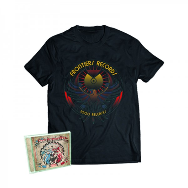 """1000 Releases"" T-shirt + EDGE OF FOREVER - Native Soul - CD - Ltd.Bundle T-shirt S-XL"