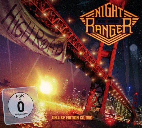 NIGHT RANGER - High Road - Ltd.CD+DVD-Digipak