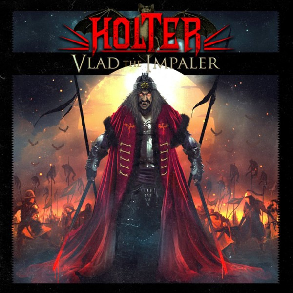 HOLTER - Vlad The Impaler - CD Jewelcase