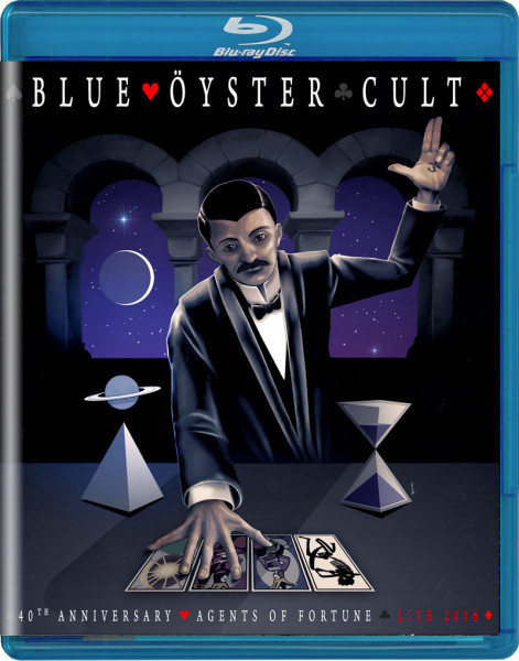 BLUE ÖYSTER CULT - 40th Anniversary - Agents Of Fortune - Live 2016 - Blu-Ray