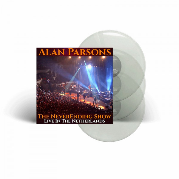 ALAN PARSONS - The NeverEnding Show: Live In The Netherlands - Ltd. Gatefold CRYSTAL 3-LP