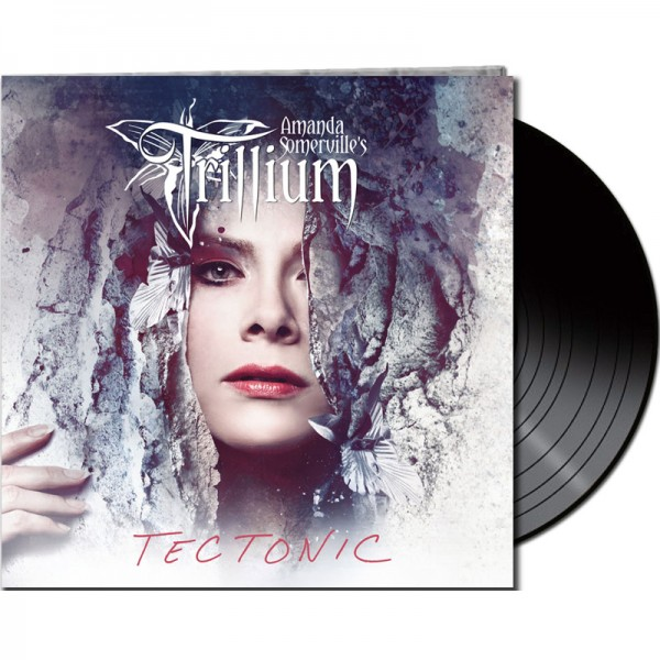 Amanda Somerville's TRILLIUM - Tectonic - LTD Gatefold Black Vinyl, 180 Gram