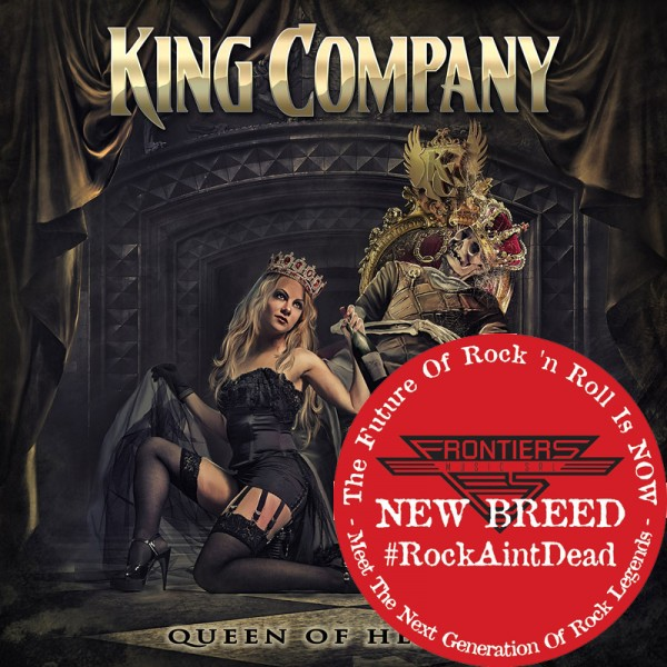 KING COMPANY - Queen Of Hearts - CD Jewelcase *NEW BREED*