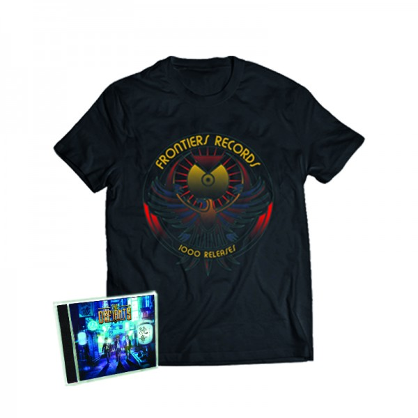 """1000 Releases"" T-Shirt + THE DEFIANTS - Zokusho - CD - Ltd.Bundle T-shirt S-XL"