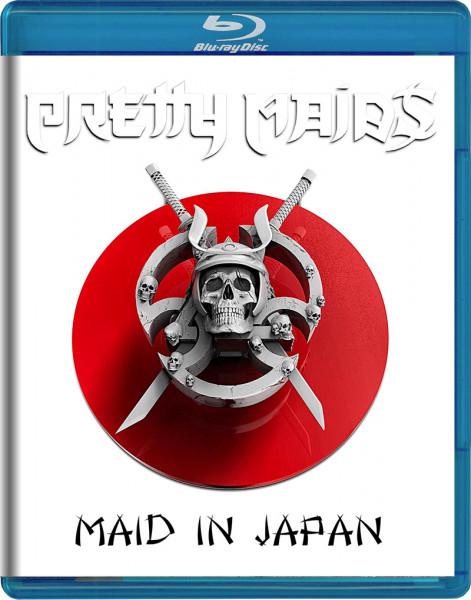 PRETTY MAIDS - Maid In Japan - Future World Live 30 Anniversary - Blu-Ray