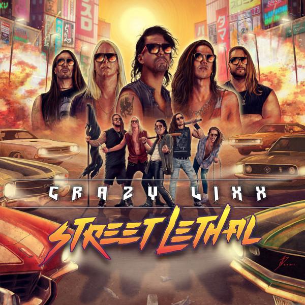 CRAZY LIXX - Street Lethal - CD Jewelcase
