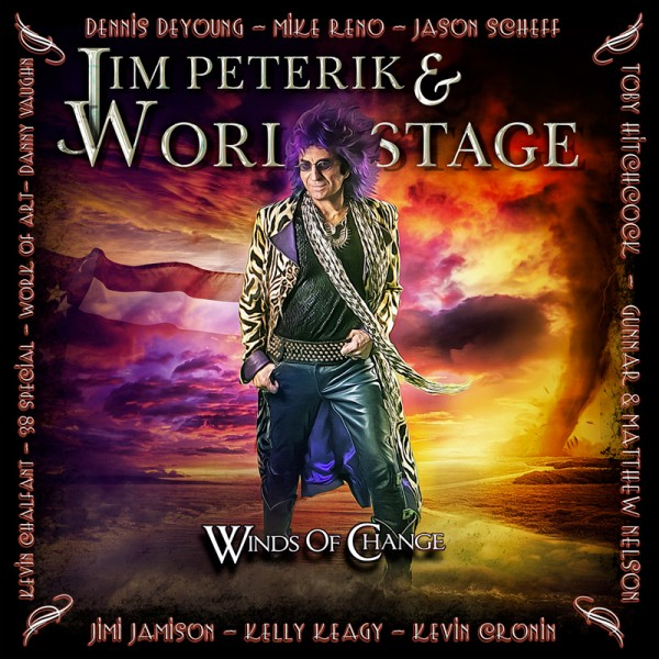 JIM PETERIK & WORLD STAGE - Winds Of Change - CD Jewelcase