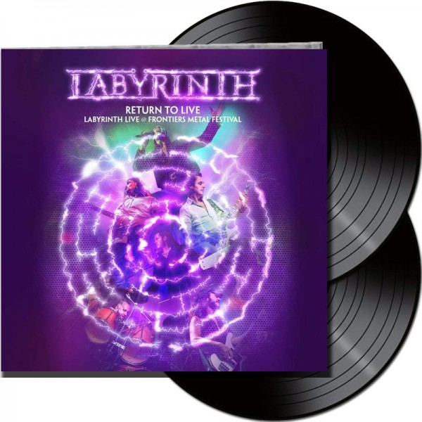 LABYRINTH - Return To Live - LTD Gatefold Black 2 Vinyl, 180 Gram