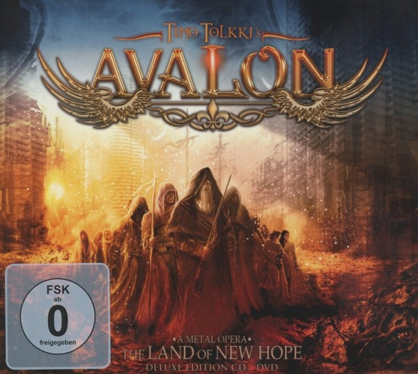 TIMO TOLKKI'S AVALON - The Land Of New Hope - Ltd.CD+DVD-Digipak