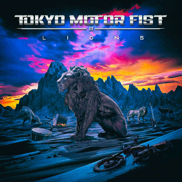 TOKYO MOTOR FIST - Lions - CD Jewelcase