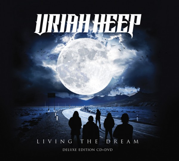 URIAH HEEP - Living The Dream - CD+DVD Digipak Deluxe Edition