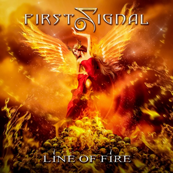 FIRST SIGNAL - Line of Fire - CD Jewelcase
