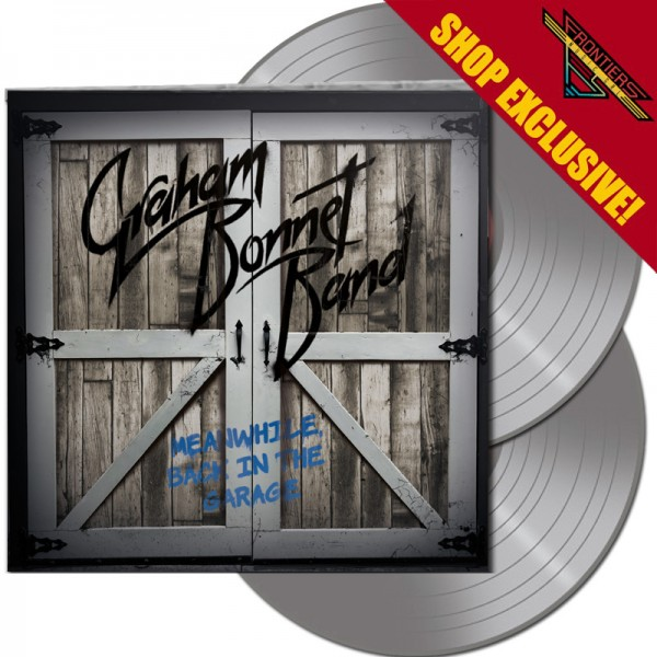 GRAHAM BONNET BAND - Meanwhile, Back In The Garage - LTD Gatefold SILVER 2-LP, 180g - SHOP EXCLUSIVE