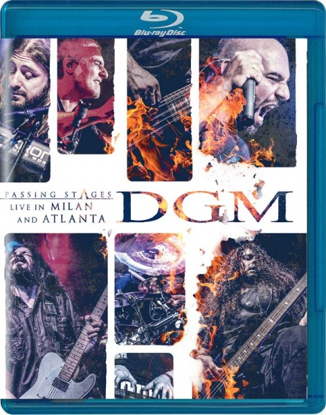 DGM - Passing Stages: Live in Milan and Atlanta - BluRay
