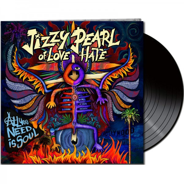 JIZZY PEARL of LOVE/HATE - All You Need Is Soul - LTD Gatefold Black Vinyl, 180 Gram