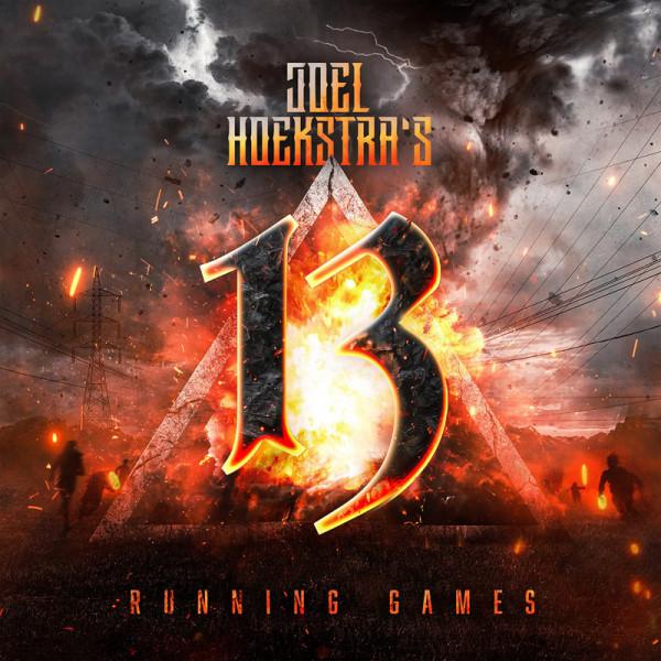 JOEL HOEKSTRA'S 13 - Running Games - CD Jewelcase