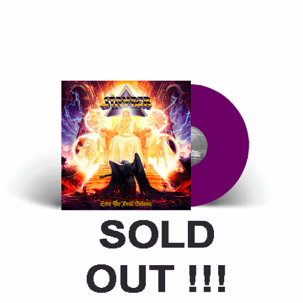 STRYPER - Even The Devil Believes - Ltd. Gatefold PURPLE Vinyl, 180g - Shop Exclusive !