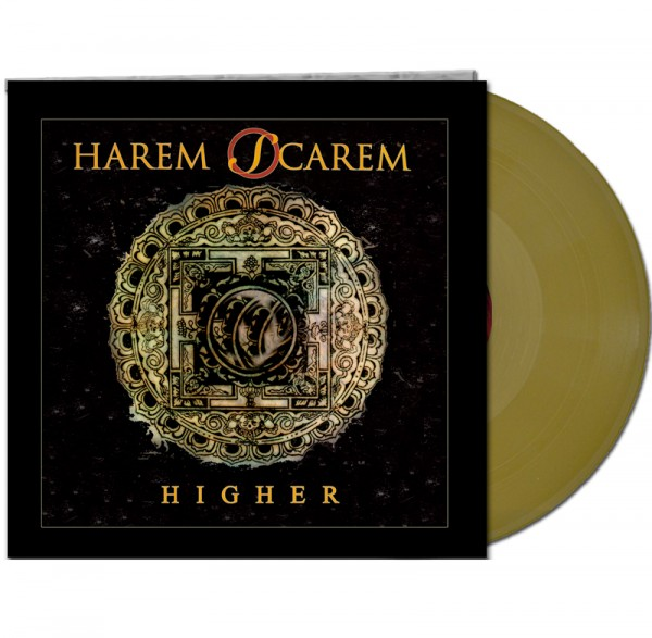 HAREM SCAREM - Higher - LTD Gatefold GOLD Vinyl, 180 Gram